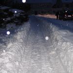 Hejnice bojují se sněhovými přívaly