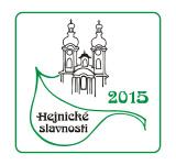 Hejnické slavnosti 2015