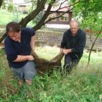 Velký Štolpich čištění 08 Mikuláš Ticháček a Karel Pešek