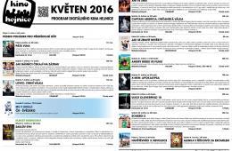 Kino Hejnice a jeho program na květen