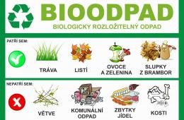 V Hejnicích začínáme sbírat bioodpad