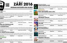 Kino Hejnice a jeho program na září