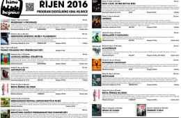 Kino Hejnice a jeho program na říjen