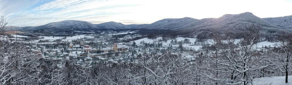 Panorama Hejnic