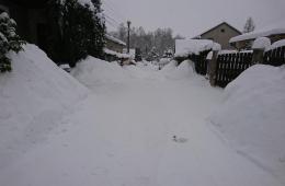 Něco málo dat ze sněhových Hejnic